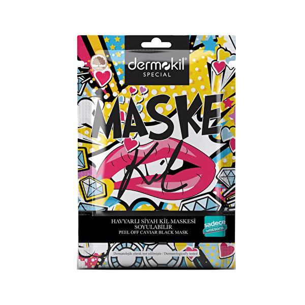 Havyarlı Tek Kullanımlık Soyulabilir Maske 15 ml