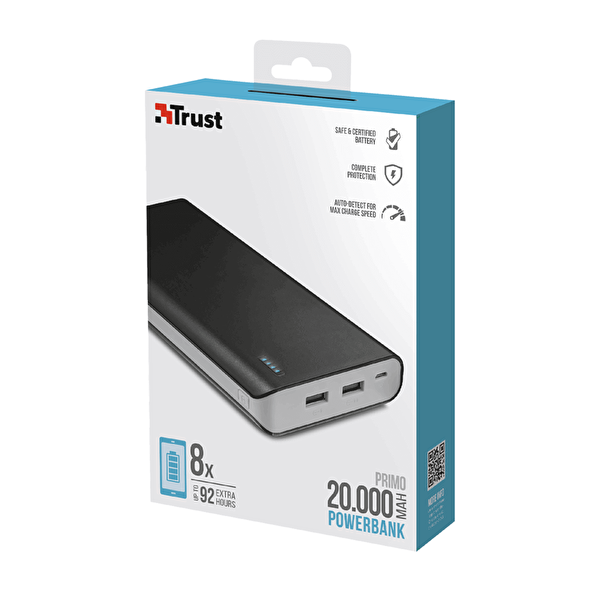 Primo Powerbank 20000 Mah