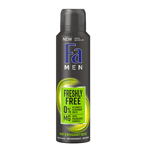 Men  Mint ve Bergamot Deodorant 150  ml