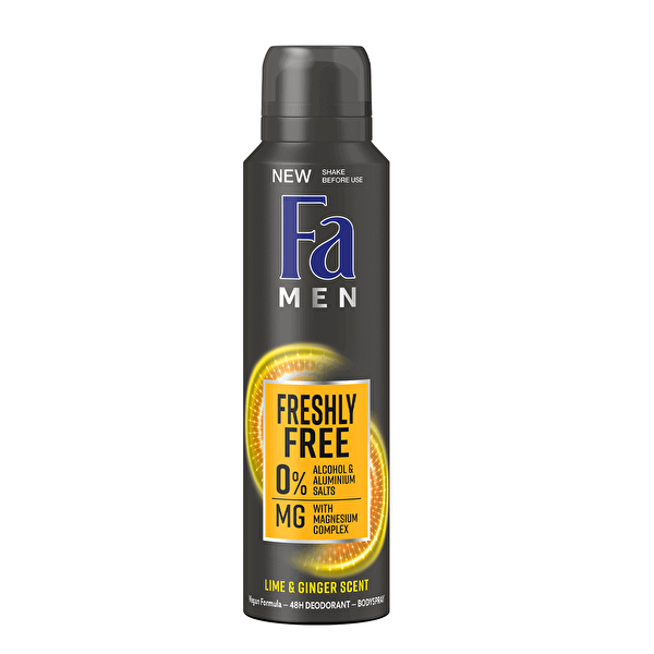 Men Lime ve Ginger Deodorant 150  ml