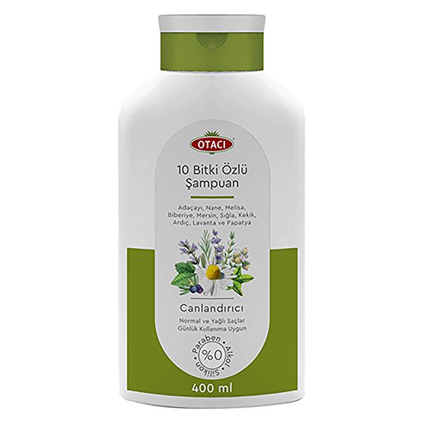 Bitki Özlü Canlandırıcı Şampuan 400ml