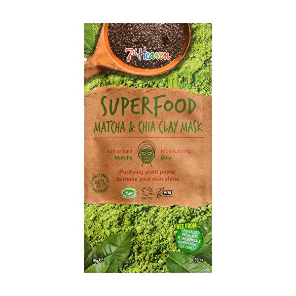 Superfood Matcha Chia Kil Yüz Maskesi 10 gr