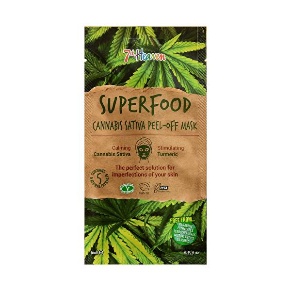 Superfood Cannabis Soyulabilir Yüz Maskesi 10 ml