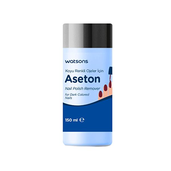 Koyu Renk Ojeler için Aseton 150 ml