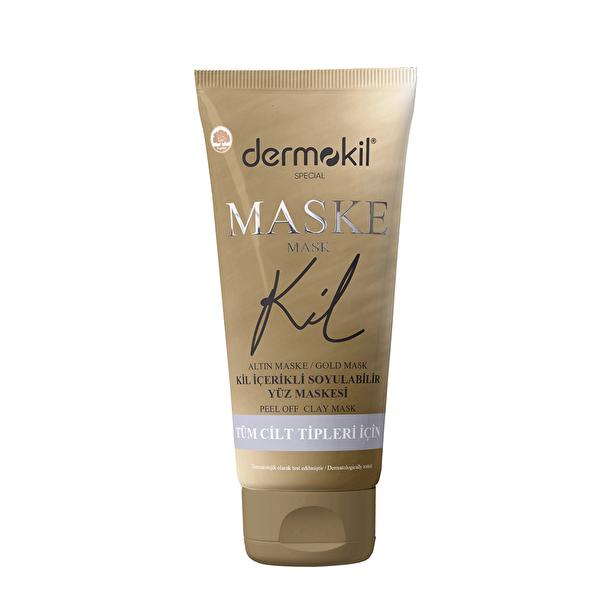 Kil İçerikli Soyulabilir Gold Maske 75 ml