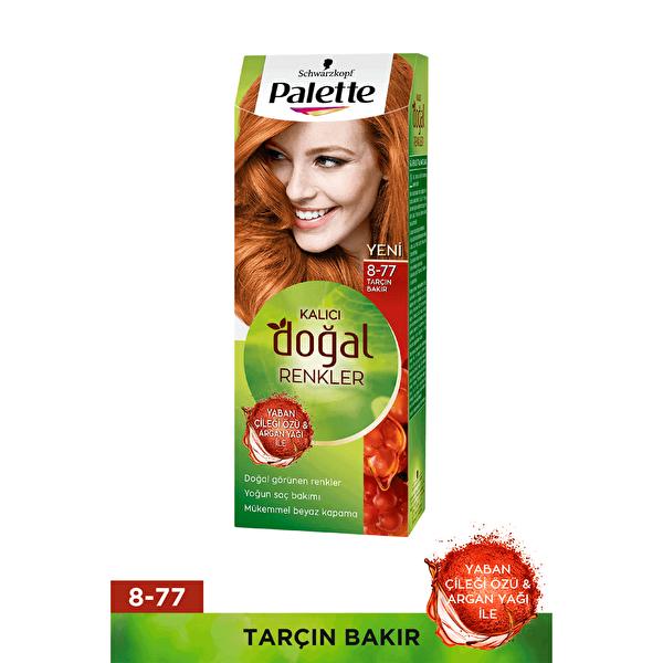 Kalıcı Doğal Renkler Saç Boyası 8-77 Tarçın Bakır