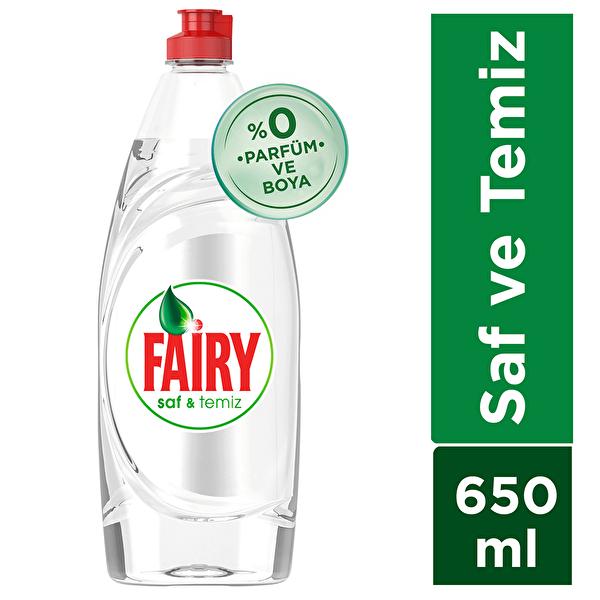 Saf ve Temiz Sıvı Bulaşık Deterjanı 650 ml