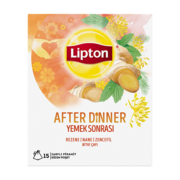 After Dinner Bardak Poşet Bitki Çayı 15 Adet