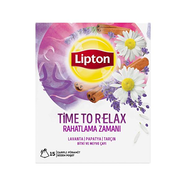 Time To Relax Bardak Poşet Bitki Çayı 15 Adet