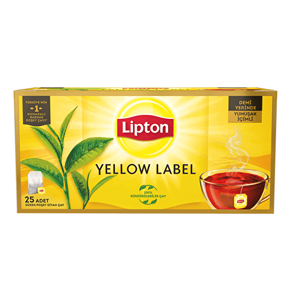 Yellow Label 25'li Demlik Poşet Çay