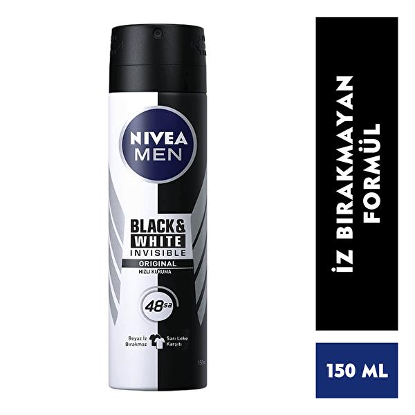 Invisible Black and White Power Erkek Deodorant 150 ml
