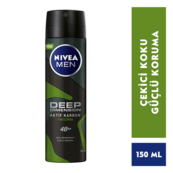 Men Deep Dimension Amazonia Deodorant 150 ml