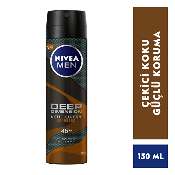 Deep Dimension Espresso Deodorant 150 ml