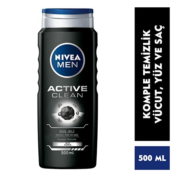 Active Clean Kömürlü Duş Jeli 500 ml