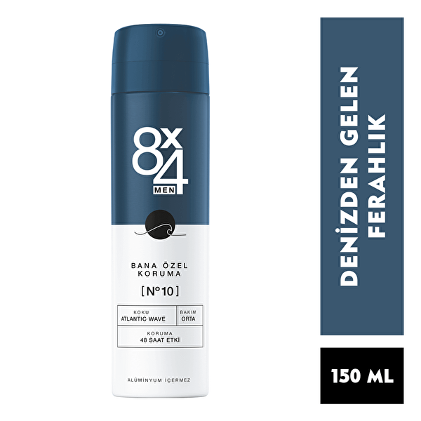 Atlantic Wave Deodorant No: 10