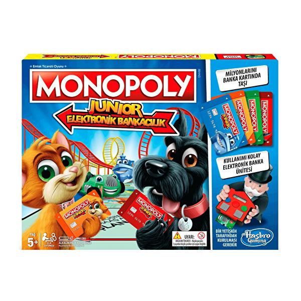 Monopoly Junior Elektronik Bankacılık Kutu Oyunu