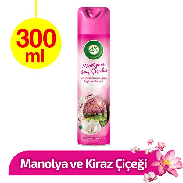 Aerosol Manolya ve Kiraz Çiçekleri Oda Kokusu 300 ml