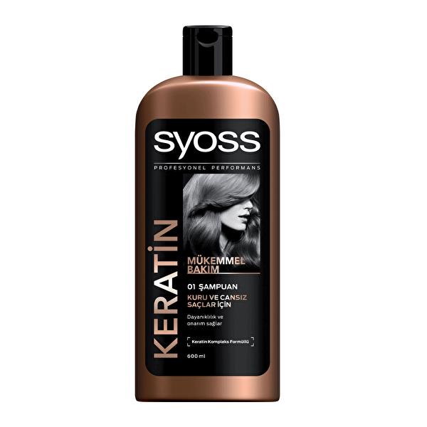 Keratin Bakımı Şampuan 600 ml