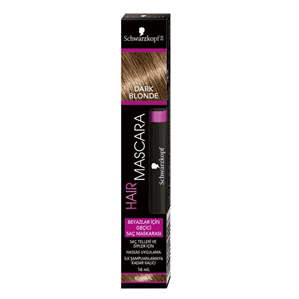 Saç Maskarası Koyu Sarı 16 ml