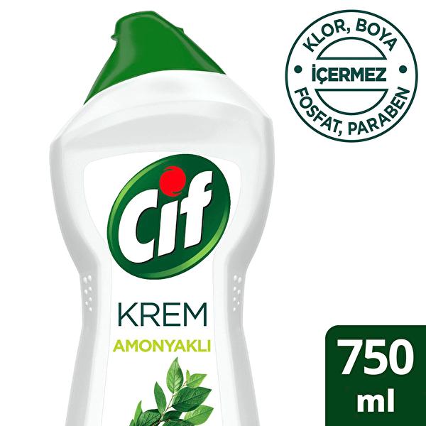 Amonyaklı Krem Temizleyici 750 ml