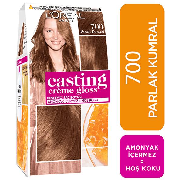 Amonyaksız Besleyici Saç Boyası Parlak Kumral 700
