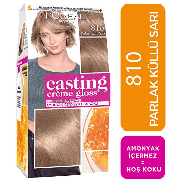 Amonyaksız Besleyici Saç Boyası Parlak Küllü Sarı 810