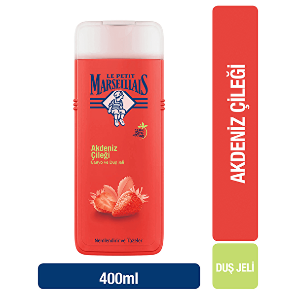 Akdeniz Çileği Duş Jeli 400 ml
