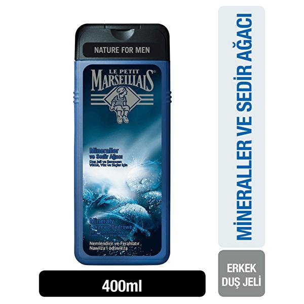 Men Sedir Ağacı ve Mineral Duş Jeli 400 ml