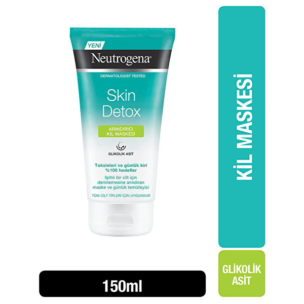 Skin Detox Arındırıcı Kil Maskesi Arındırıcı 150 ml
