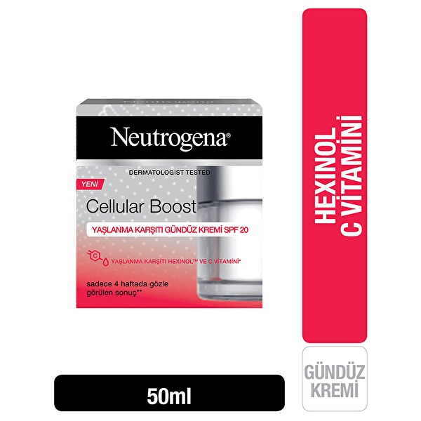 Cellular Boost Gündüz Kremi SPF20 50 ml