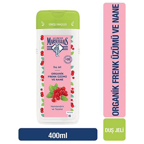 Organik Frenk Üzümü ve Nane 400 ml