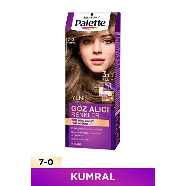 Göz Alıcı Renkler Saç Boyası 7-0 Kumral