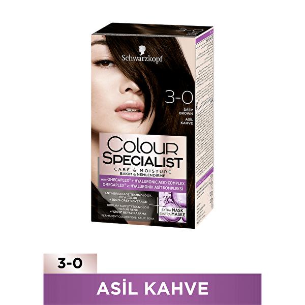 Colour Specialist Saç Boyası Asil Kahve 3-0