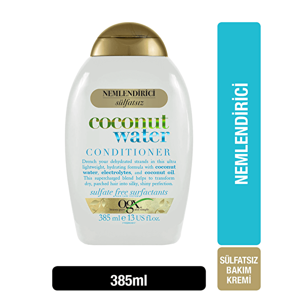 Nemlendirici Coconut Water Bakım Kremi 385 ml