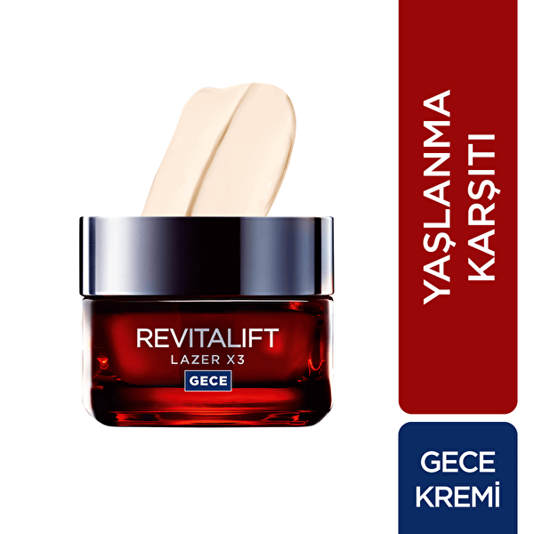 Revitalift Laser Gece Kremi 50 ml