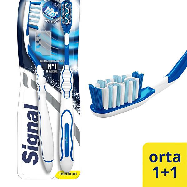 White Sistem Diş Fırçası 1+1