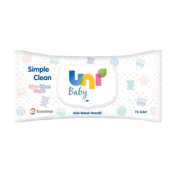 Simple Clean Islak Havlu 72 Adet