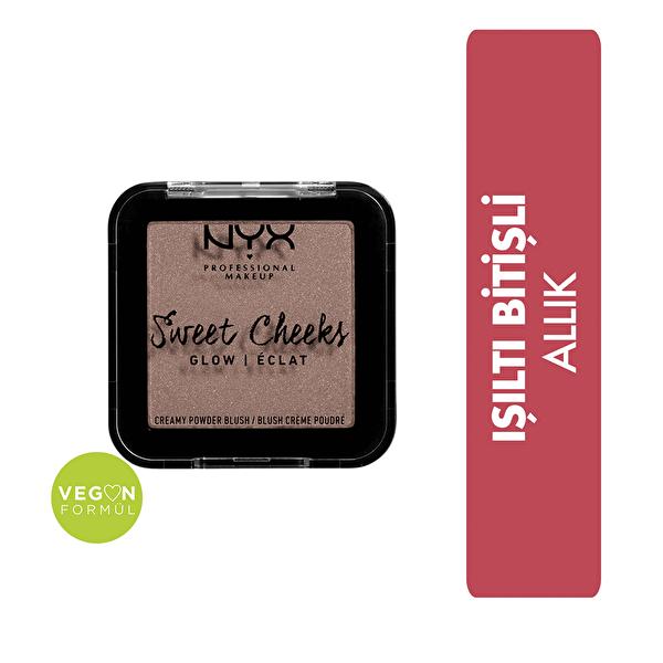 Sweet Cheeks Creamy Powder Blush Glow - So Taupe