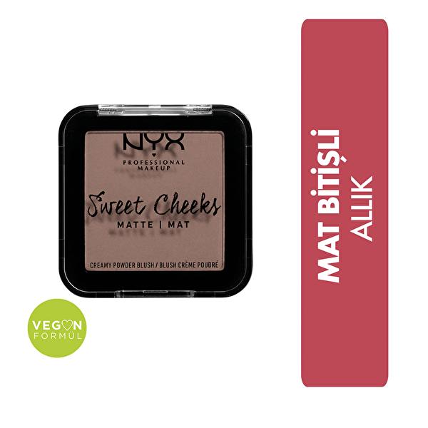 Sweet Cheeks Creamy Powder Blush Matte - So Taupe