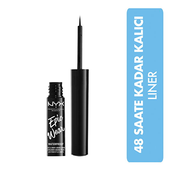 Epic Wear Liquid Eyeliner Black