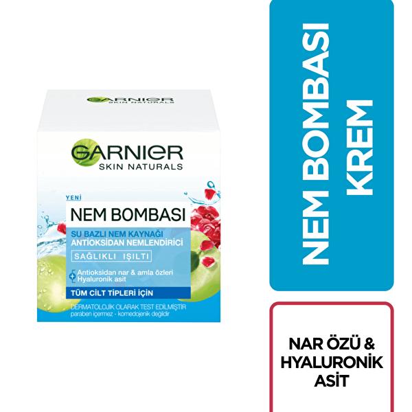 Su Bazlı Nem Bombası Nem Kaynağı Antioksidan Nemlendirici 50 ml
