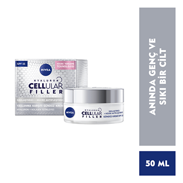 Cellular Antiage Gündüz Kremi Spf15 50 ml