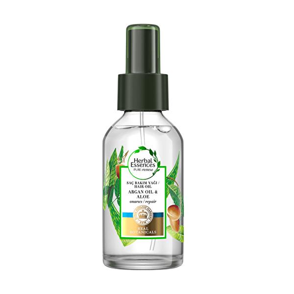 Argan Yağı ve Aloe Saç Bakım Yağı 100 ml