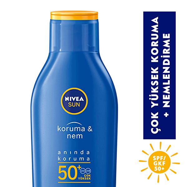 Sun Koruma ve Nem Güneş Losyonu Spf 50+ 200 ml