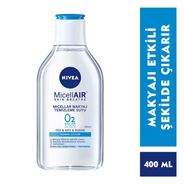 Micellar Makyaj Temizleme Suyu Normal Ciltler 400 ml
