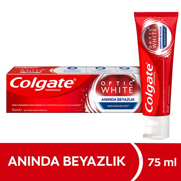 Optic White Anında Beyazlık Beyazlatıcı Diş Macunu 75 ml