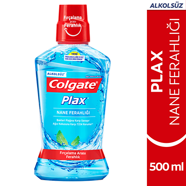 Plax Serin Nane Ağız Bakım Suyu 500 ml