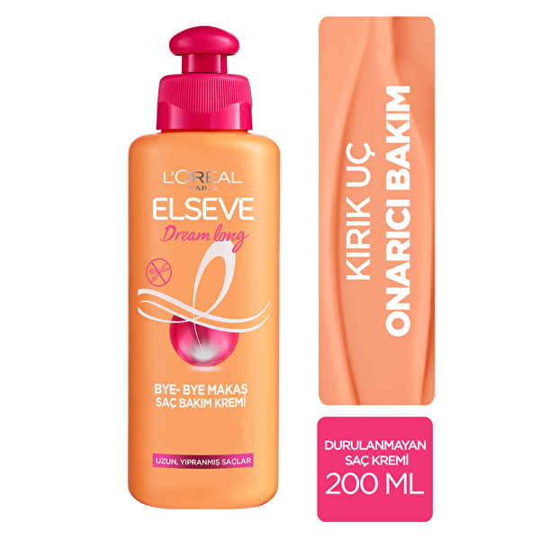 Elseve Dream Long Bye-Bye Makas Saç Bakım Kremi 200 ml