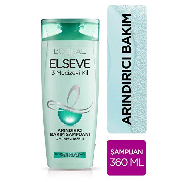Mucizevi Kil Şampuan 360 ml