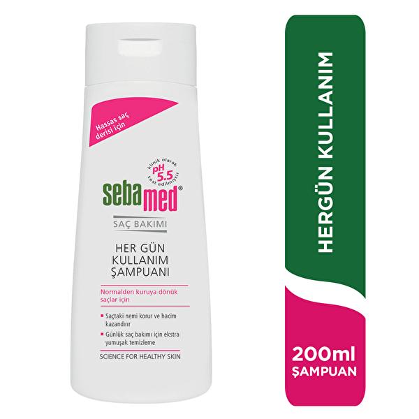 Şampuan Her Gün Kullanım İçin 200 ml